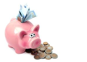 Advanta Advertising Piggy Bank Photo