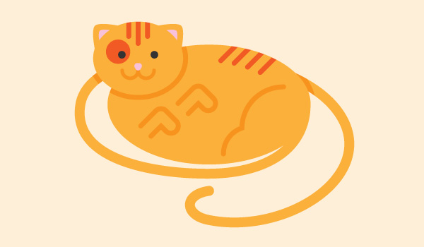 Advanta Advertising long-tail keyword cat graphic