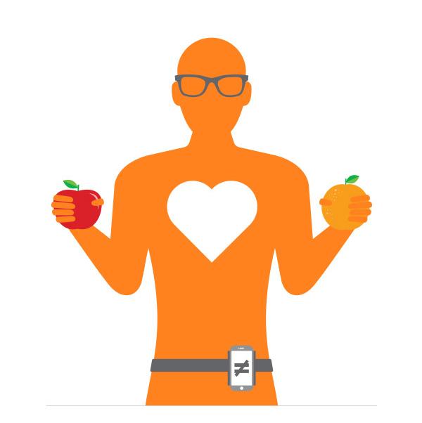 Advanta Advertising Hugh Chemguy compares apples and oranges