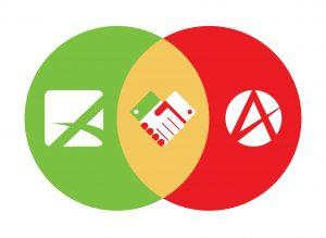 Advanta Advertising and Alliance Contract Pharma partnership logo